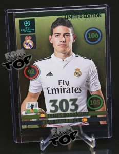 Champions League 14/15 - DUŻA KARTA - XXL Limited Edition - James RODRIGUEZ
