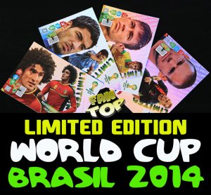 LIMITED EDITION karty WORLD CUP Brasil 2014