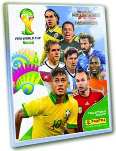 ALBUM + 30 kart - FIFA BRASIL WORLD CUP 2014   Adrenalyn XL Brazil