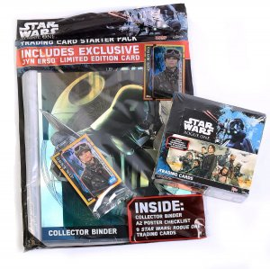 ROGUE ONE  STAR WARS - STARTER PACK Album + BOX 36 saszetki