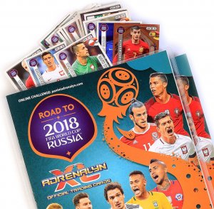ALBUM + 40 kart + Limited wybór -  ROAD TO WORLD CUP 2018