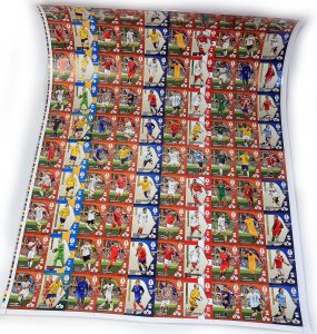 UNCUT SHEET - MATRYCA panini UNIKAT  - WORLD CUP Russia 2018