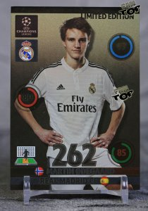 Martin ODEGAARD karta LIMITED EDITION Real Madryt - UPDATE 2015