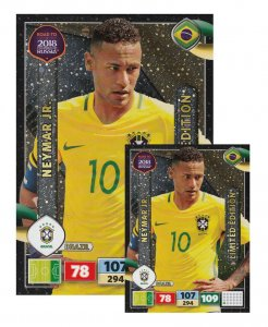 NEYMAR XXL Limited Edition + Podstawka  -  ROAD TO WORLD CUP 2018