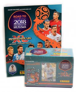 ALBUM + GIFT BOX folia pudełko 10 + 2 + 1 XXL Limited - ROAD TO WORLD CUP 2018
