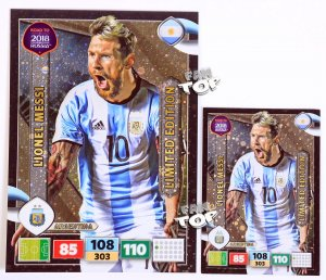 MESSI XXL Limited Edition -  ROAD TO WORLD CUP 2018