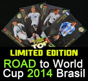 karty LIMITED EDITION ROAD to World Cup 2014 - Twój wybór